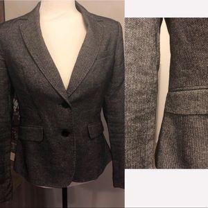 <NY&Co> Grey Herringbone Blazer